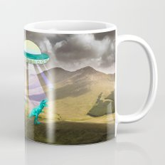 Aliens do exist - dino exctinction event Mug