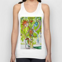 alchemy Tank Tops featuring Alchemy  by LuxMundi