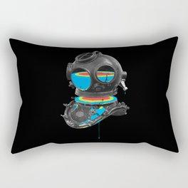 Diver No.12 Rectangular Pillow
