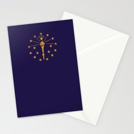 Indiana State Flag Stationery Cards