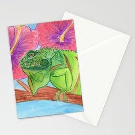 U wanna Iguana Stationery Cards