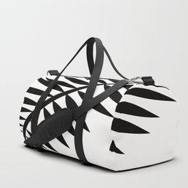 BLACK PALM LEAF Duffle Bag