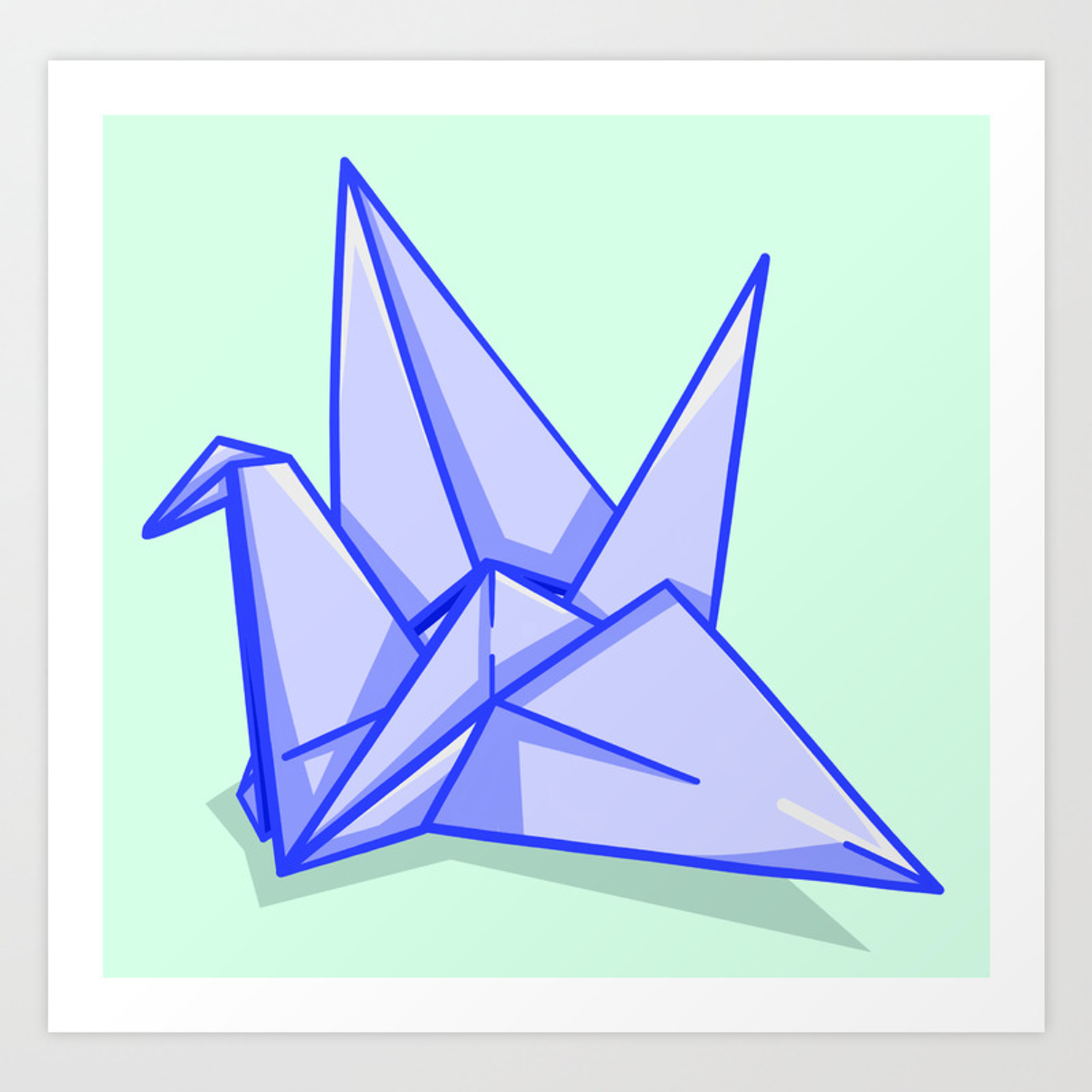 I Folded And Decorated An Origami Crane Every Day, For 1000 Days ...   1500x1500