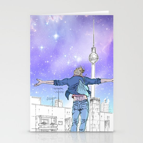 Until The Daylight - Berlin Comic - Piece 2 Stationery Cards