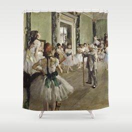 Edgar Degas - The Ballet Class Shower Curtain