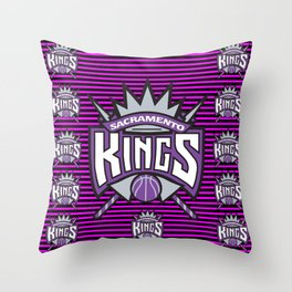 Kings Throw Pillow