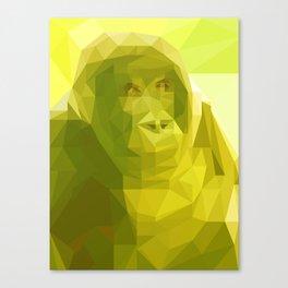 """Fragments """"Gorilla"""" Canvas Print"""