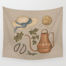 May Gardening Collection Wall Tapestry