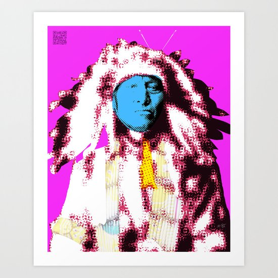 Indian Pop 60 Art Print