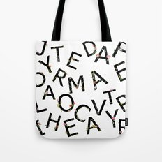 Letters Pattern Tote Bag