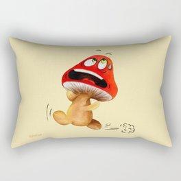 LA VIE DES CHAMPIGNONS Rectangular Pillow