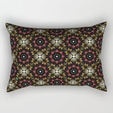 Metallic Deco Wine Rectangular Pillow