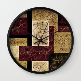 Crackle2 Wall Clock