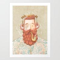 music Art Prints featuring Music by Seaside Spirit