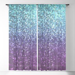 Mosaic Sparkley Texture G198 Sheer Curtain