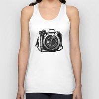 camera Tank Tops featuring Camera by Luisa Mähringer
