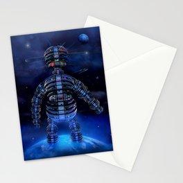 i robot Stationery Cards