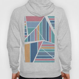 CRAZY STRIPES (abstract pattern) Hoody