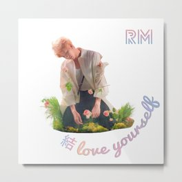 BTS Love Yourself Answer Design - RM Metal Print