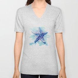 Starfish Waters I Unisex V-Neck