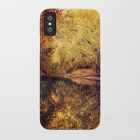 wisconsin iPhone & iPod Cases featuring Wisconsin River by KunstFabrik_StaticMovement Manu Jobst