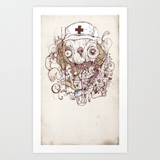 Prescription Medication Art Print