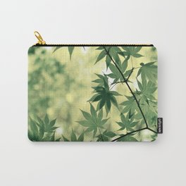 Green Japanese Maple Carry-All Pouch