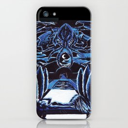 Cthulhu Dreaming iPhone Case