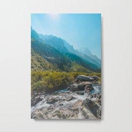 Cascade Creek, Grand Teton National Park Metal Print