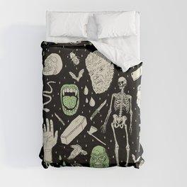 Whole Lotta Horror: BLK ed. Duvet Cover