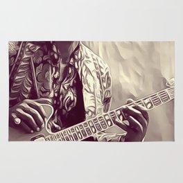Chuck Berry, Music Legend Rug