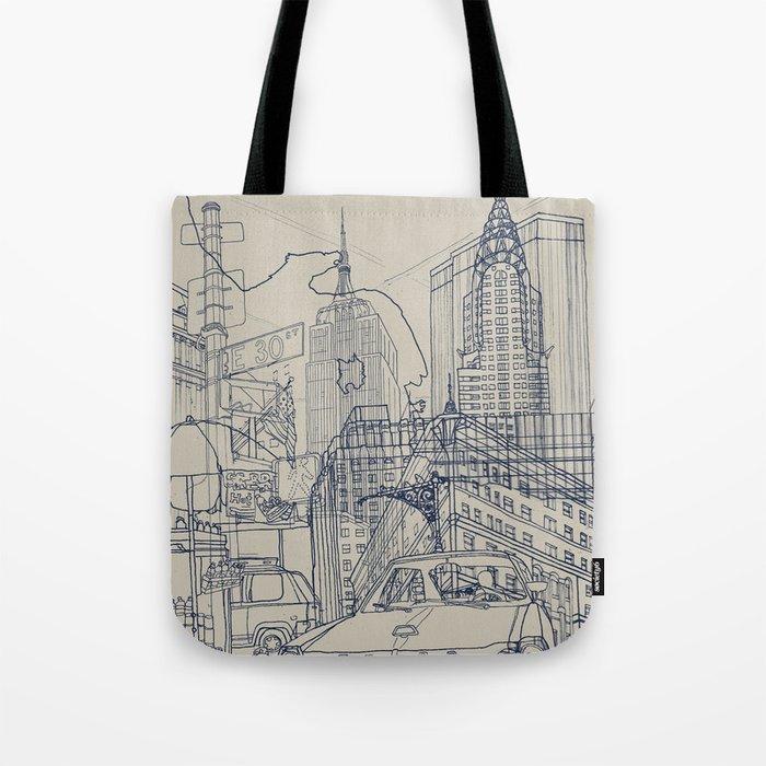 New York! Tote Bag