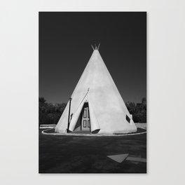 Route 66 - Wigwam Motel 2012 Canvas Print