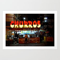 Churros Art Print