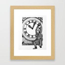 Great Scott! Framed Art Print