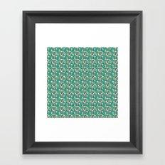 Aqua Mountains - Lumberjack Attack Framed Art Print