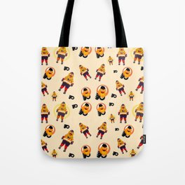 gritty patterns Tote Bag