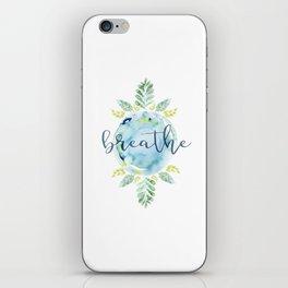 Breathe - Watercolor iPhone Skin