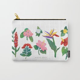 Flowers of Hawaii Carry-All Pouch