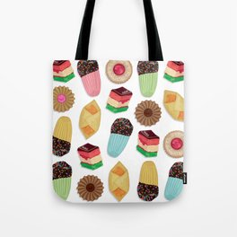 Assorted Cookie Pattern Tote Bag