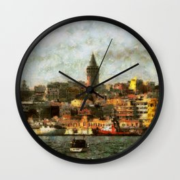 Gorgeous Istanbul Wall Clock