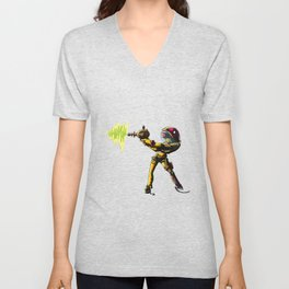 Space Girl Unisex V-Neck