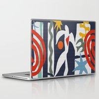 matisse Laptop & iPad Skins featuring Inspired to Matisse by Chicca Besso