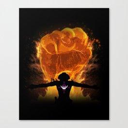 Fire Fist Canvas Print