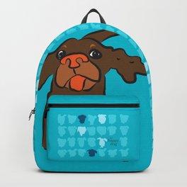Ellie brown turquise Backpack