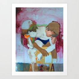 Nausea Art Print
