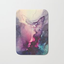 Mission Fusion - Mixed Media Painting Bath Mat