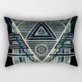 Tesla Portal Dark Rectangular Pillow