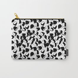 Morning Medicine in Black & White Carry-All Pouch