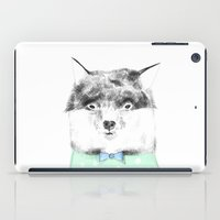 mr fox iPad Cases featuring MR FOX by Lorenzo Voltaire